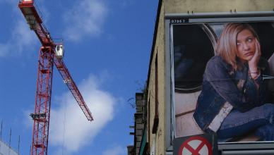 Over The Cobblestone, Smithfield, Dublin