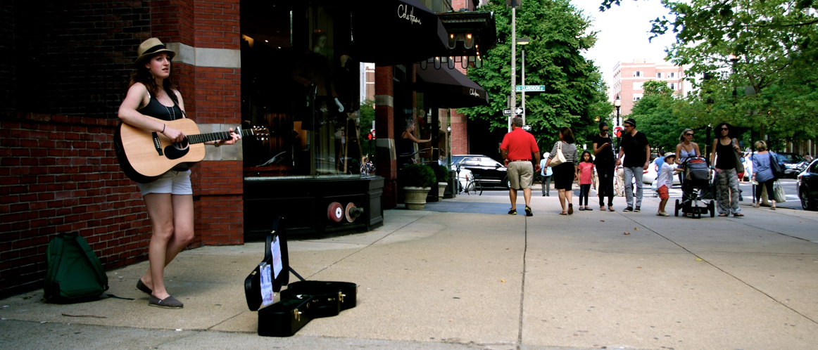 how to become a busker