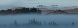 Foggy Morning, Strathlachlan, Michael Russell