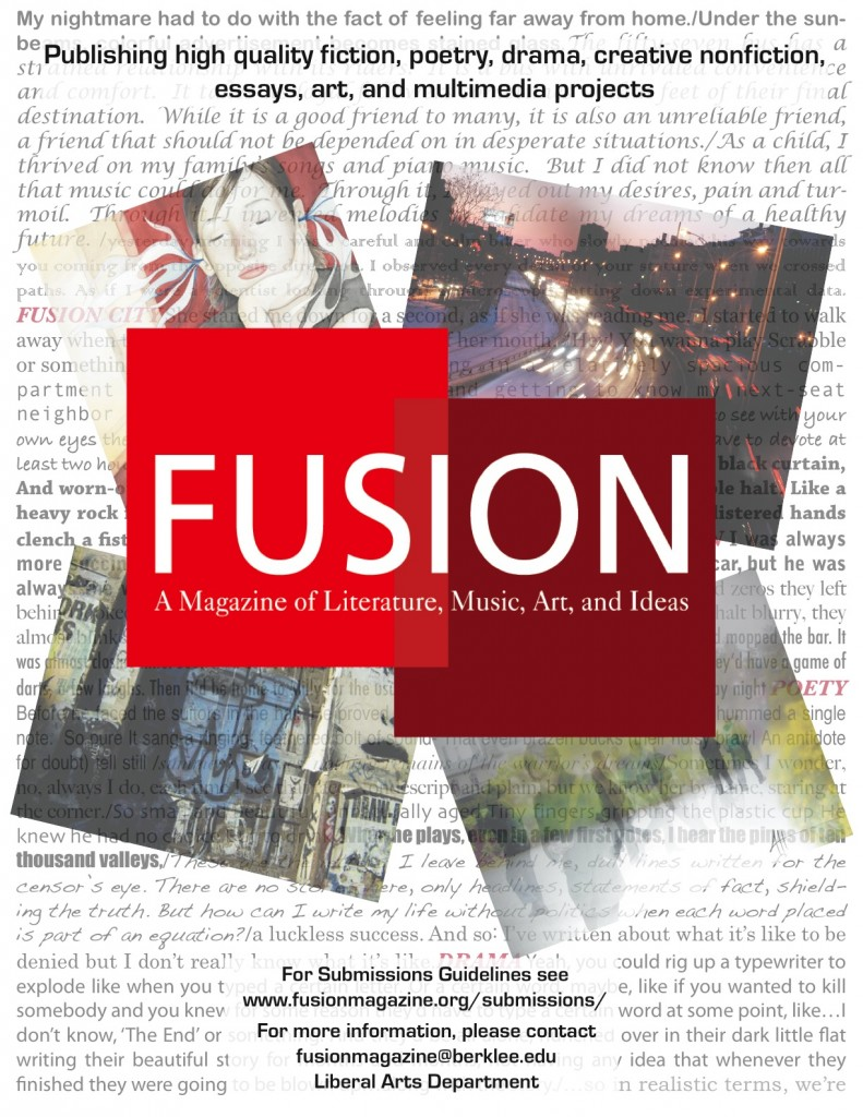 FUSION First Print Flier