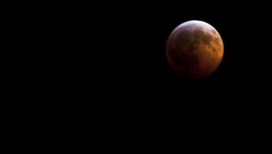 Lunar Eclipse by Aldon Baker