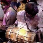 Devdas playing Dhol