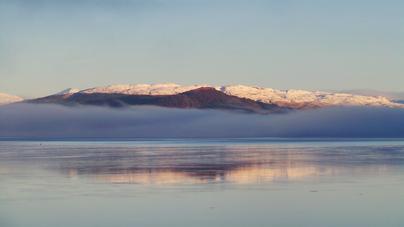 First Snow Loch Fyne, Michael Russell