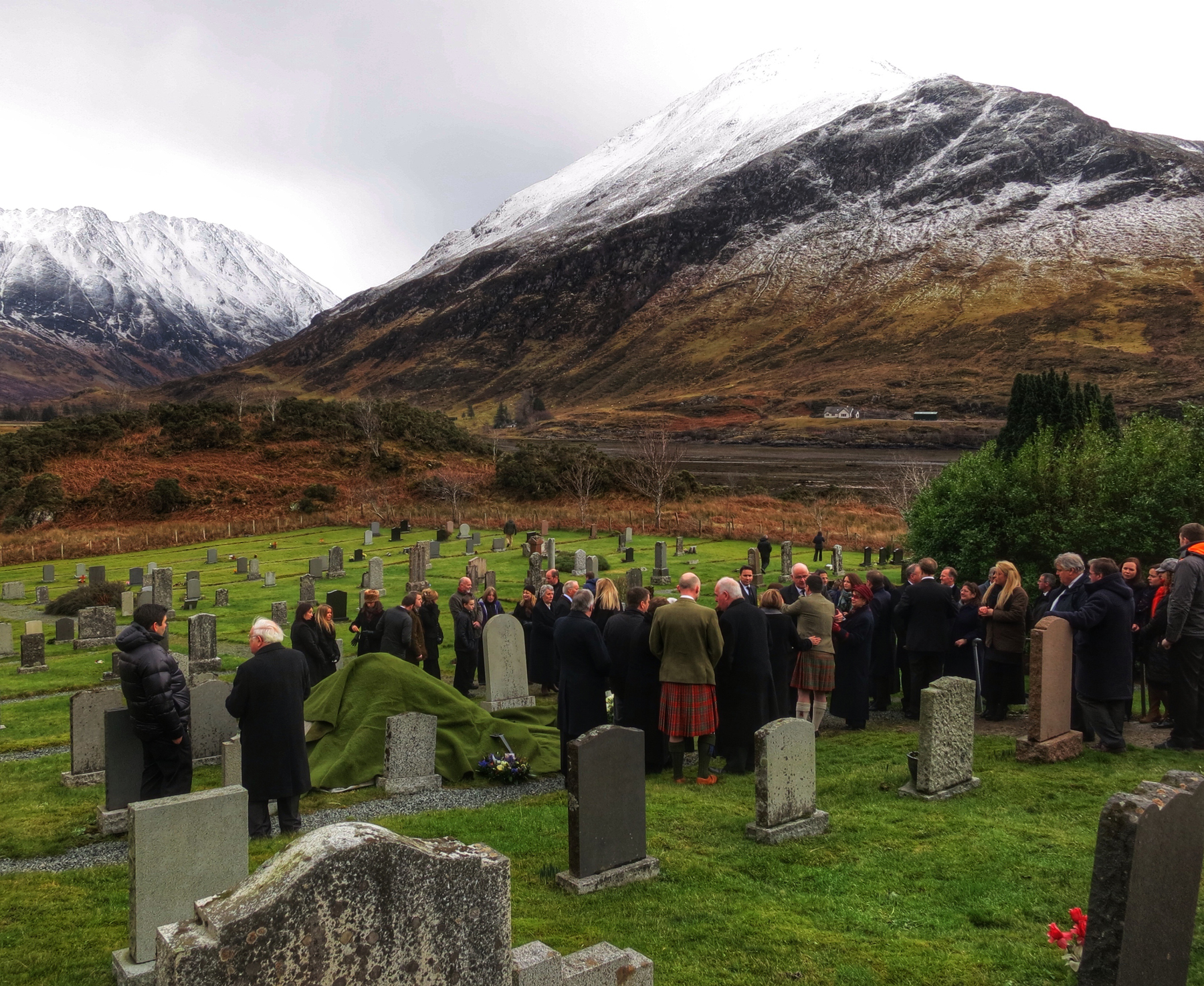 Highland Funeral, Michael Russell