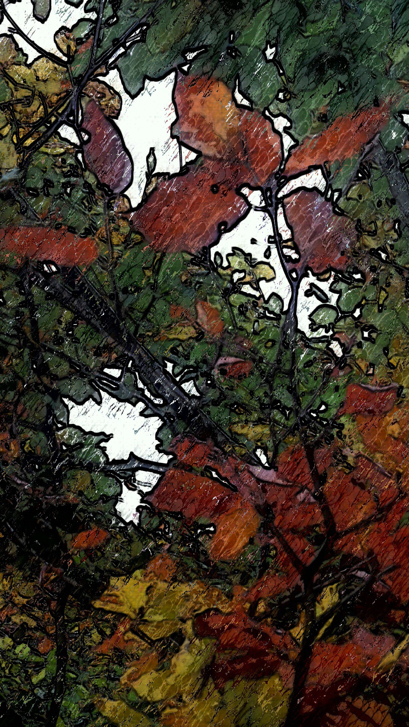 Leaves, Michael Russell