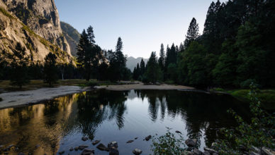 Yosemite_Park_in_Evening_Backlight