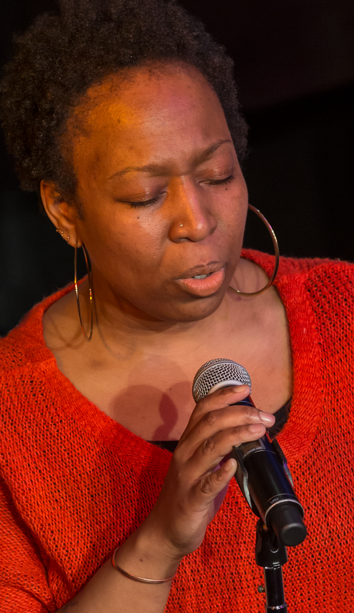 Nedelka Prescod 2015 Jazz vocalist and Berklee faculty member, Nedelka Prescod performs Duke Ellington's, Come Sunday in David Friend Recital Hall during a tribute concert put on by the Ensemble Department in honor of deceased colleague, Paul Ellman